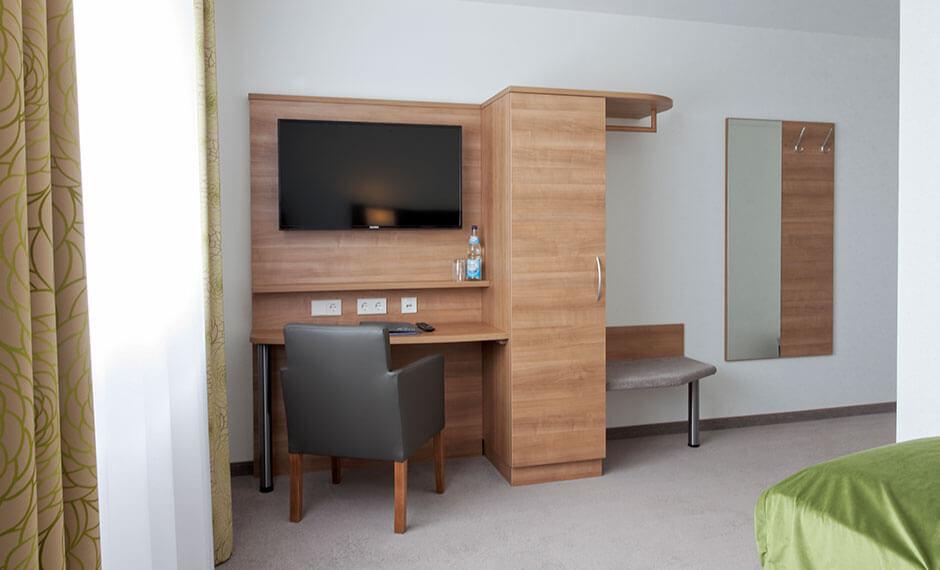 City Comfort Hotelmöbel-Zeile mit bequemen Sessel