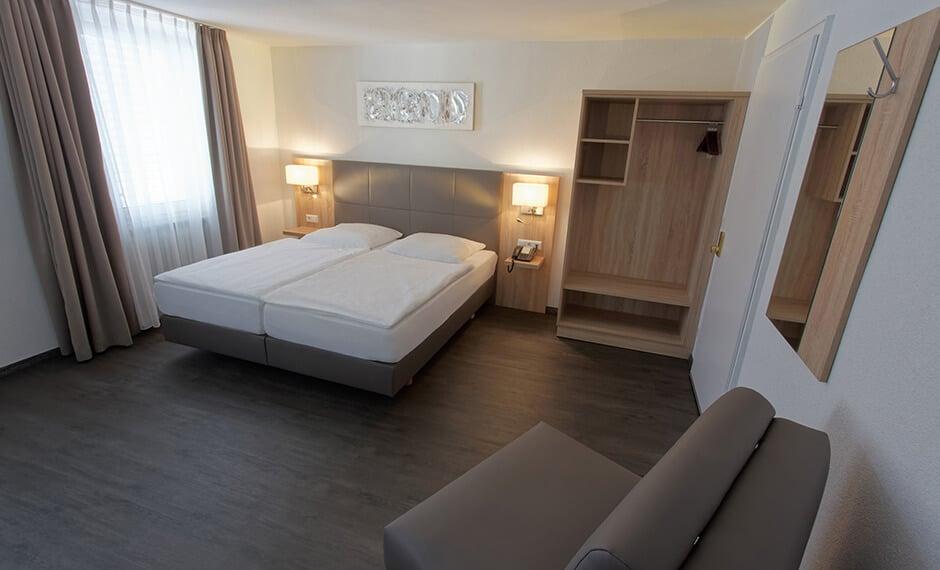 Hotelzimmer Panello vom Hoteleinrichter