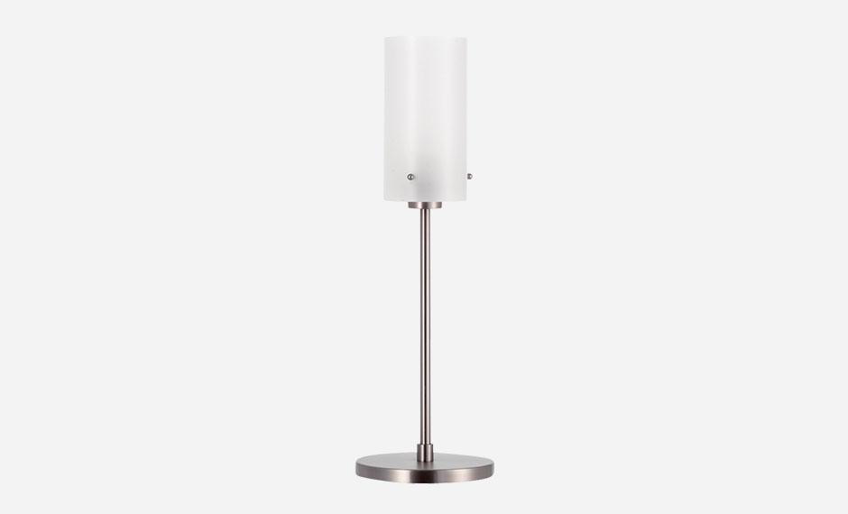 Hotel-Stehlampe mit Zylinderschirm